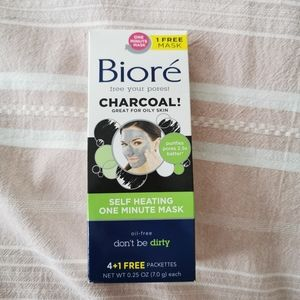 Biore New Charcoal Face Mask